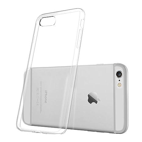 Apple iPhone 6S Plus Custodia Sottile Flessibile Trasparente TPU