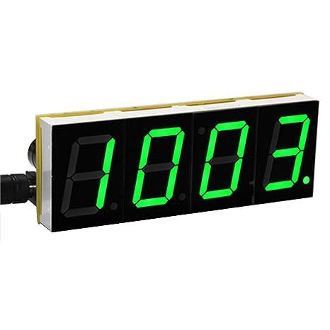 Kit reloj DIY –Sodial (R) Kit reloj de pantalla grande