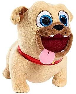 Amazon Com Just Play Puppy Dog Pals Medium Plush Rolly Plush Toys