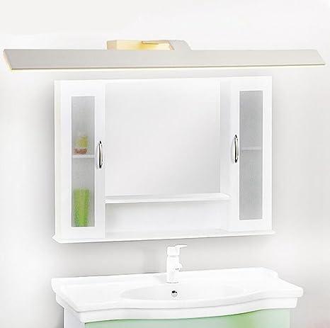 Lozse LED, luces delanteras de espejo, baño, cuarto de baño, tocador ...