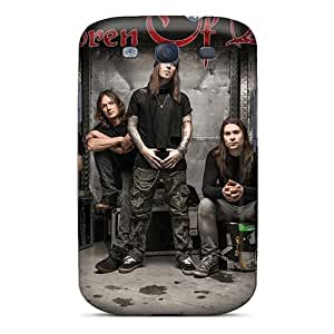 Shock Absorption Hard Phone Covers For Samsung Galaxy S3 (Uwj16457YHgA) Support Personal Customs High Resolution Children Of Bodom Band Pictures