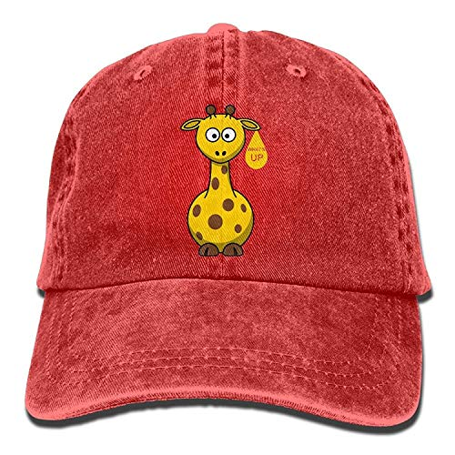 Cowgirl Cute Men Cowboy Skull Women for Sport Hat Giraffe Animal Cap Denim Hats wSq615RZ1x