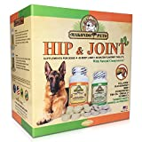 Dog Arthritis Aid - Hip and Joint Supplements for Dogs with Collagen Chondroitin MSM Vitamins Fish Oil and Glucosamine for Dogs + Natural Boswellia & Turmeric for Dogs - 120 Tabs for Dog Joint Pain