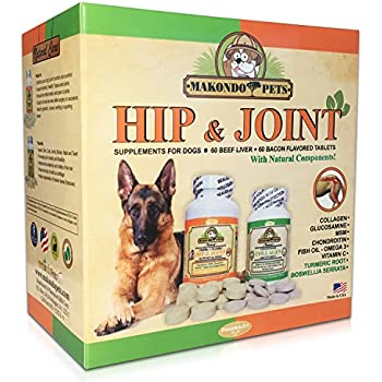 Amazon Com Makondo Pets Joint Support Supplement For
