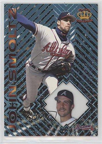 John Smoltz (Baseball Card) 1997 Pacific Crown Collection Prism - [Base] - Light Blue #83