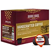 Barrie House Dark Mystery Single Serve Coffee Pods, 24 Pack | Fair Trade Organic Certified | Comp...