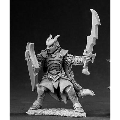Vaeloth Hellborn Paladin Dark Heaven Legends Miniature by Reaper Miniatures by Reaper Minatures: Toys & Games