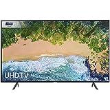 Samsung UE65NU7100 65-Inch 4K Ultra HD Certified HDR Smart TV - Charcoal Black (2018 Model) [Energy Class A+]