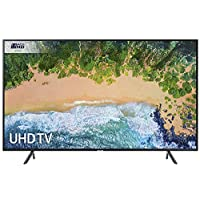 Samsung UE65NU7100 65-Inch 4K Ultra HD Certified HDR Smart TV - Charcoal Black (2018 Model) [Energy Class A+]