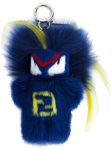 Blue Fendi Handbag (Fendi women's bag charmbug-kun fendirumi blu)