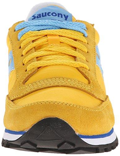 Originali Saucony Da Donna Jazz Low Pro Sneaker Giallo / Azzurro