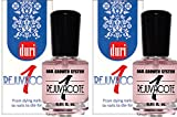 duri Rejuvacote 1 Nail Growth System, 0.61 oz, Pack of 2