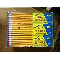 Lápices Pre-afilados No. 2 144 /caja 12 cajas de 12 nuevos borradores mejorados