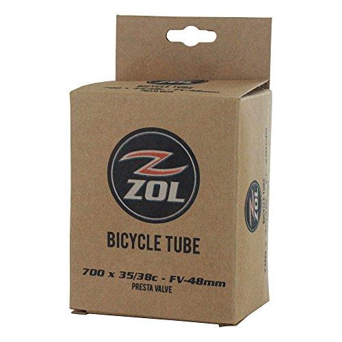Zol Bicycle Bike Inner Tube 700x35CPresta/French 48mm Valve(Box 100 PCS)