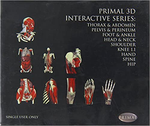 Primal 3D Interactive Series: Complete Human Anatomy (9 Volume Set ...