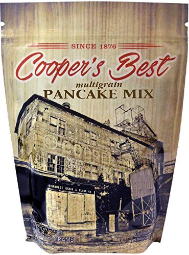 Cooper's Best Multigrain Pancake Mix (2.5 LB Bag) - Based On Original 1876 Recipe - An Old Favorite Perfect for Any Time - Premium Milled Flour - Made in the USA - 28 Servings