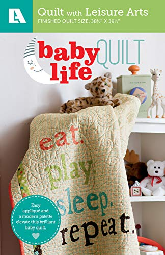 Baby Life Quilt - Easy Applique Pattern Pack-Easy Applique and a Modern Palette Elevate this Brilliant Baby Quilt