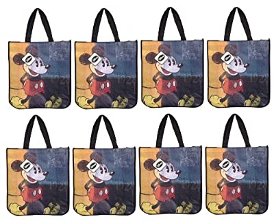 Disney Vintage Mickey Mouse Reusable Tote Bag (8- Pack)