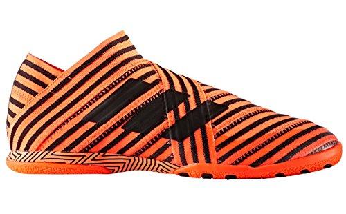 adidas Mens Nemeziz 17+ 360 Agility FG Soccer Cleats (9, Orange/Black)