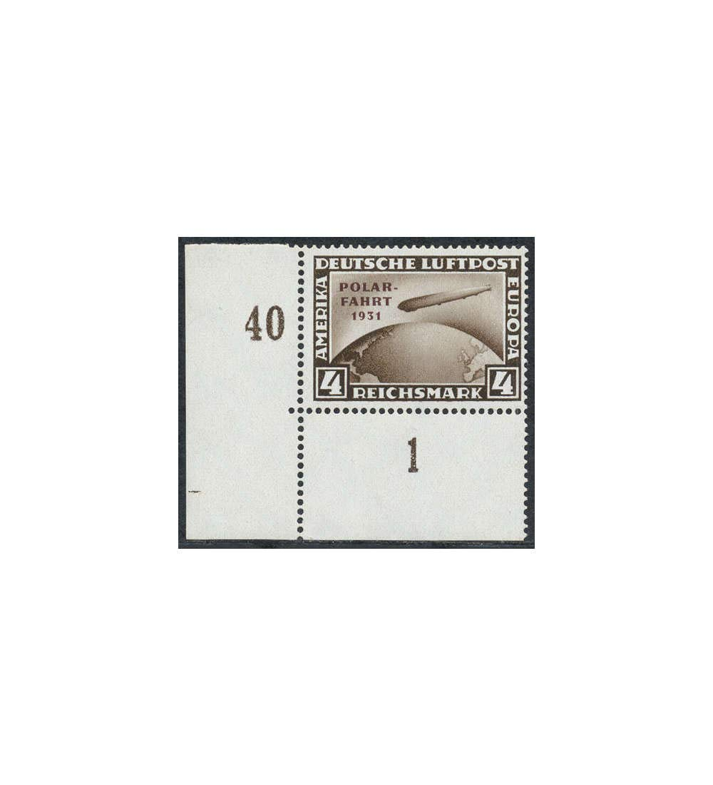 Goldhahn Deutsches Reich Nr. 458 postfrisch geprüft Schlegel Briefmarken für Sammler