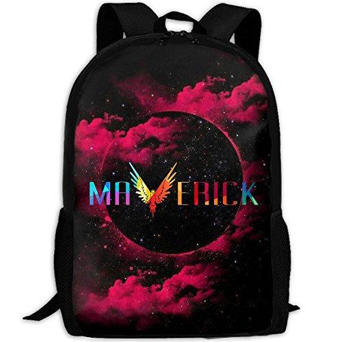 MKKR2 Logan-paul-Maverick 3D Adult Outdoor Leisure Sports Backpack And School Backpack