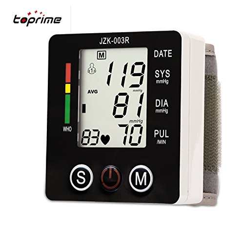 Blood Pressure Monitor Automatic Hypertension