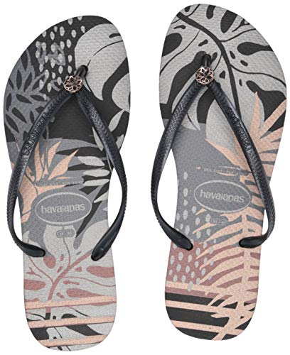 Havaianas Women's Slim Royal Sandal, black, 37/38 M BR (7/8 -