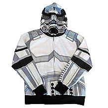 Star Wars StormTrooper Boy's Face Mask Hoodie Jacket
