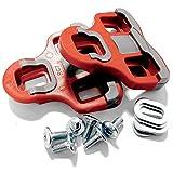 VeloChampion - Cales Look Keo Grip VeloChampion grises 6° de liberté angulaire - Rouge