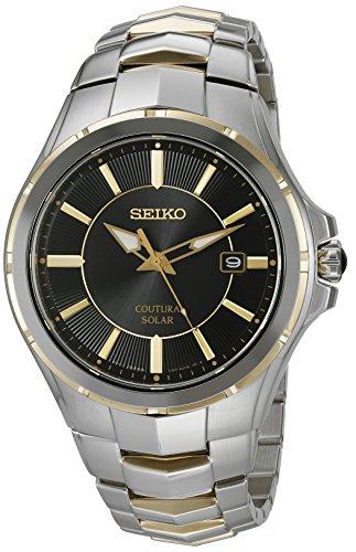 - Seiko Men's 'Coutura' Quartz Stainless Steel Dress Watch (Model: SNE412)