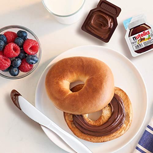 Nutella Chocolate Hazelnut Spread, Single Serve Mini Cups,  52 oz  each,  10-Count
