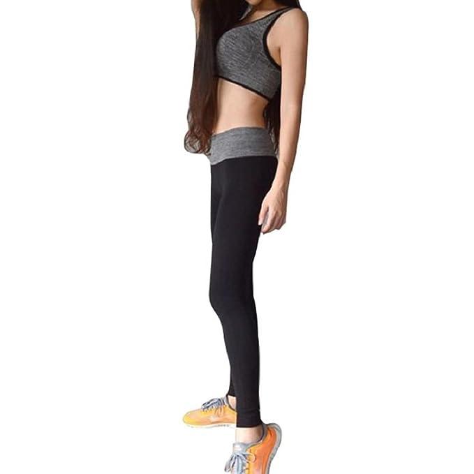 Xinantime Yoga Pantalones, Elásticos Pantalones Deportes para Mujeres Correr