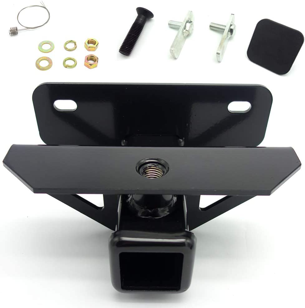 POWERWORKS Class 3 Tow Towing Trailer Hitch Receiver Kit Black 2 Inch Fit for 2003-2018 Dodge Ram 1500 /& 2003-2013 Ram 2500 3500