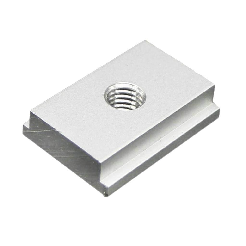Sharplace 4x T-slider Gabarits Accessoires pour circulaire /à table En Alliage Daluminium Argent/é 4pcs