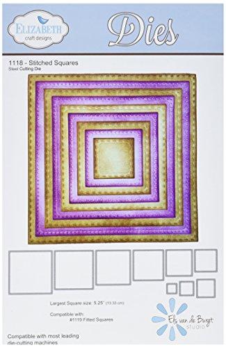 Elizabeth Craft Designs 1118 N/A Elizabeth Craft Metal Die-Stitched Squares