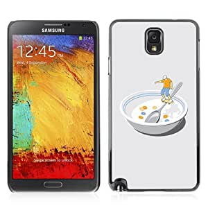 YOYOSHOP [Funny Skater In Bowl] Samsung Galaxy Note 3 Case by lolosakes