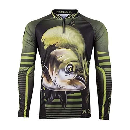 Camiseta Pesca Proteção King tamanho