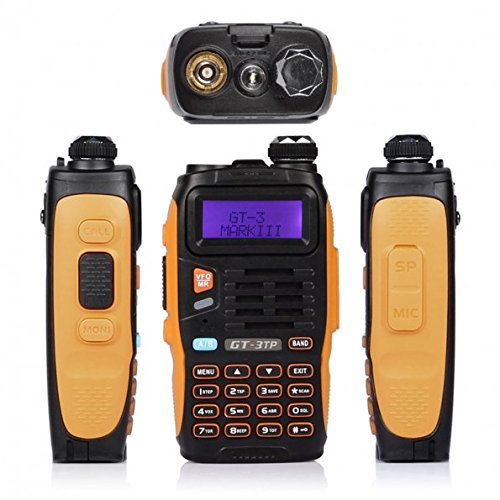 5 Pack Baofeng Pofung GT-3TP Mark-III Tri-Power 8/4/1W Two-Way Radio Transceiver, Dual Band 136-174/400-520 MHz True 8W High Power Two-Way Radio, with 23CM High Gain Antenna, Upgraded Chip + 1 Programming Cable Included by BAOFENG (Image #6)
