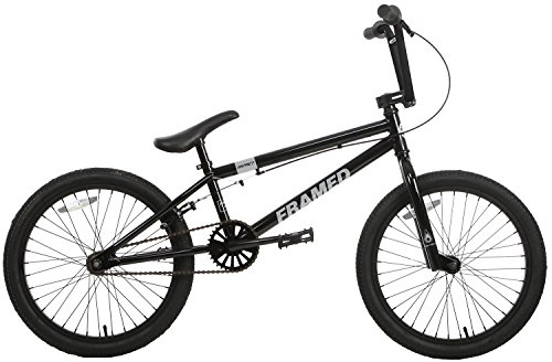 Framed Impact 20 BMX Bike Black Mens Sz 20in