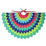 Starkma Bird Fairy Peacock Wings Costume for Kids (B)