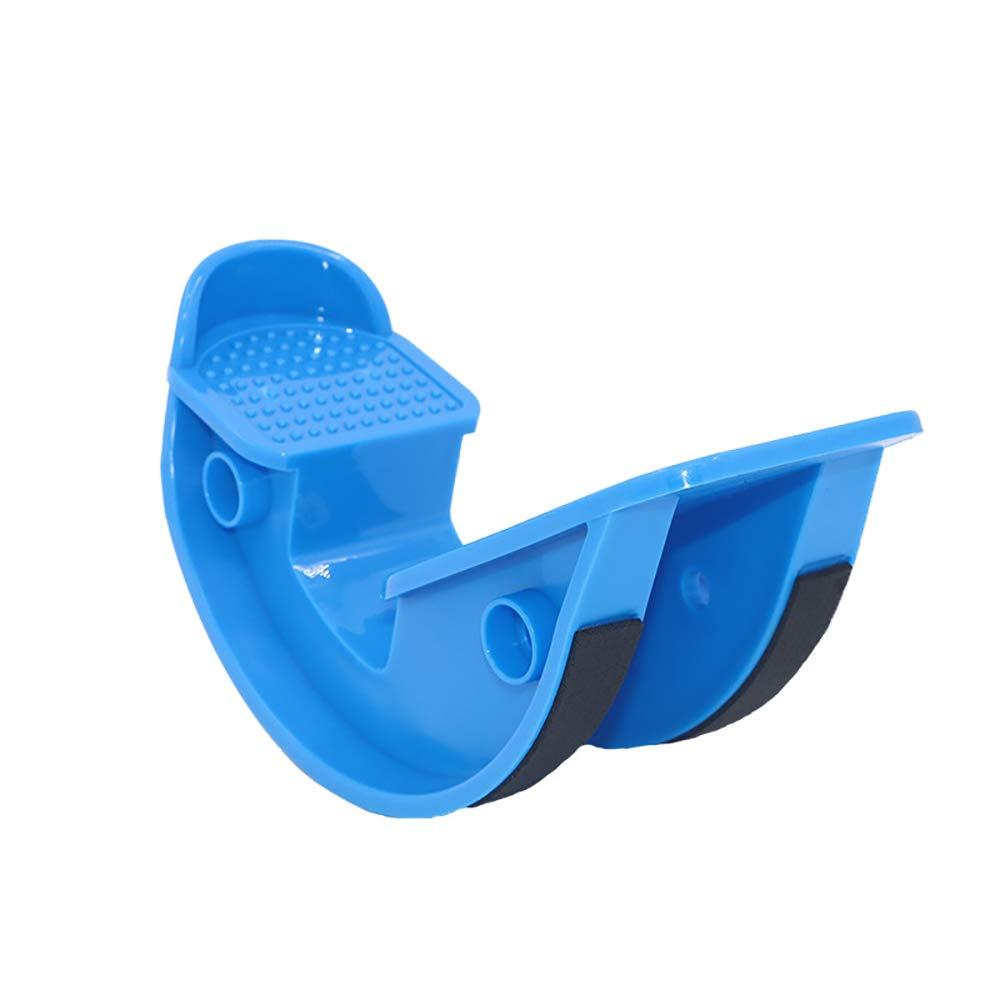 Foot Rocker - Calf Stretcher for Achilles Tendinitis, Heel, Feet, Shin Splint, Plantar Fasciitis Pain Relief - 2 PCS,Blue