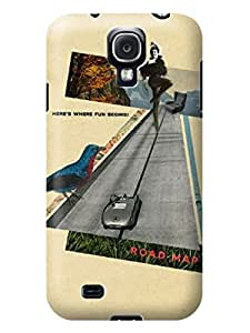 LarryToliver First Design Custom Real Or Not Quotes Best Durable Customizable retro nostalgic collage design pictures samsung Galaxy s4 Case #5