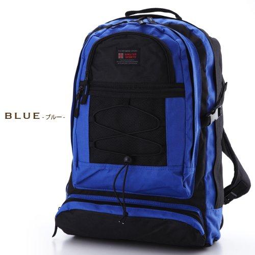 0a017b8630b9 Amazon | スポーツ バッグリュック【ブルー】 登山、山ガールに人気!3 ...