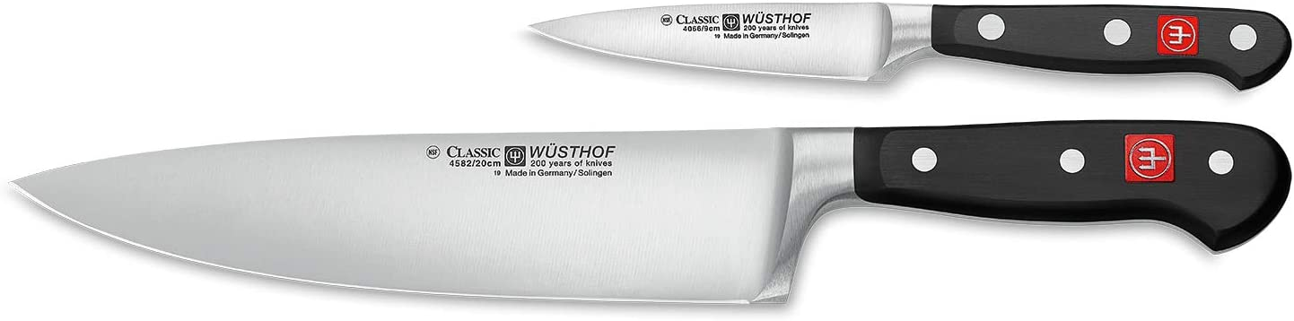 Wüsthof Two Piece Starter Set 3 5 Pairing Knife And 8 Cooks Knife 9755 Amzn Home Kitchen Outlet Kitchen Dining