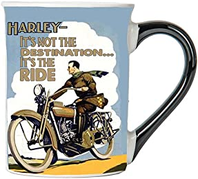 Harley- It's Not The Destination... It's A Ride Mug, Harley- It's Not The Destination... It's A Ride Coffee Cup, Harley- It's Not The Destination... It's A Ride Cup, Harley Gifts By Tumbleweed