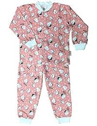 Polar Cub Print Cotton Flannel Pajama Set