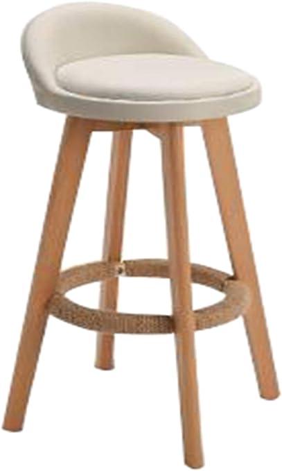 Sgabello da bar con poggiapiedi,Sgabelli da bar in legno