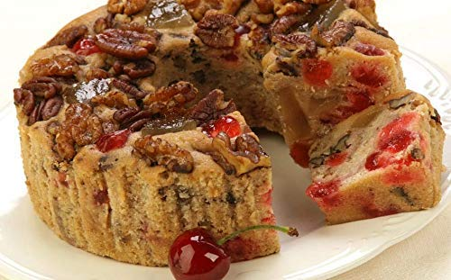 - Grandma's Fruitcake Famous Holiday Fruit and Nut Gourmet Cake in Collectible Tin