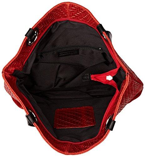 Donna Borse x Rosso 80060 a Chicca H 40x34x10 Borsa cm Mano x L W wFdqTTXP