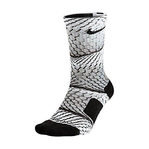 Nike SX5021-900 Elite Digital Ink Kobe Bryant Basketball Crew Socks